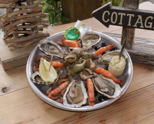 Découvrez l'assiette de la Mer des Restaurants La Cabane à Toulouse