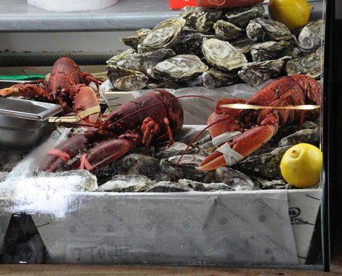 Crustacés à La Cabane Toulouse Grande Bretagne