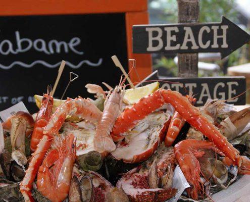 Un plateau de fruits de mer de Un autre exemple de plateau de La Cabane Toulouse Grande Bretagne